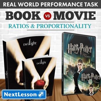 Performance Task - Ratios & Proportionality - Book vs. Movie: Twilight