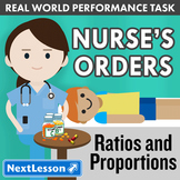 G6 Performance Task – Ratios & Proportions – Nurse's Orders