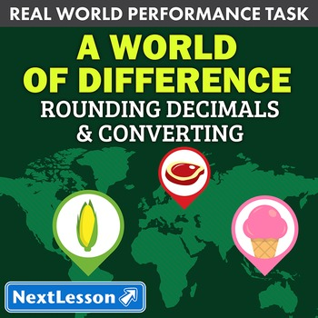 Performance Task – Rounding Decimals/Converting Measures - A World of Difference