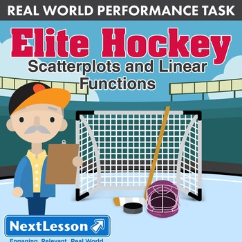 Performance Task – Scatterplots & Linear Func – Elite Hockey – Anaheim Ducks