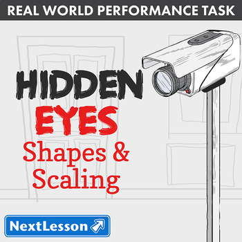 Performance Task – Shapes & Scaling – Hidden Eyes