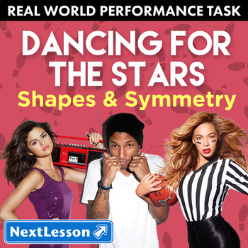 Performance Task – Shapes & Symmetry – Dancing for the Sta