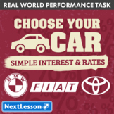 Bundle G7 Simple Interest & Rates - 'Choose Your Car' Perf