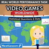 Performance Task - Statistical Questions & Data - Video Games Worldwide: Alabama