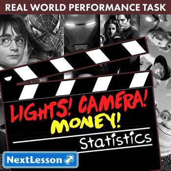 Performance Task – Statistics – Lights! Camera! Money! Harry Potter
