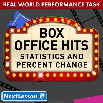 Performance Task - Statistics and Percent Change - Box Office Hits!: Superheroes