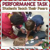 Performance Task - Students Teach The Class