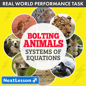 Performance Task – Systems of Equations – Bolting Animals: