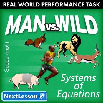 Performance Task – Systems of Equations – Man vs. Wild - Cheetah