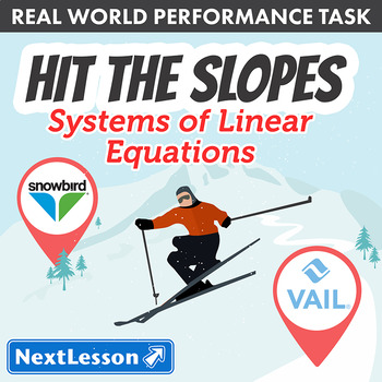 Performance Task – Systems of Linear Equations – Hit the Slopes: Vail