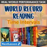 Bundle G4 Time Intervals - 'World Record Reading' Performance Task
