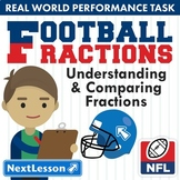 G3 Understanding & Comparing Fractions - 'Football Fractions' Performance Task