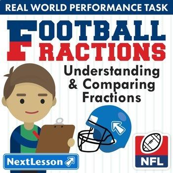 G3 Understanding & Comparing Fractions - 'Football Fractio