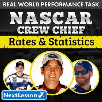 Performance Task - Unit Rates & Ratios - NASCAR Crew Chief