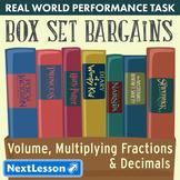 Bundle G5 Volume, Multiplying Fractions, & Decimals-Box Set Bargains Task