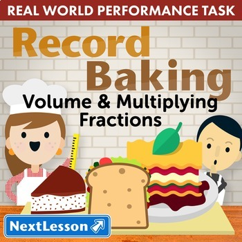 Performance Task - Volume & Multiplying Fractions- Record