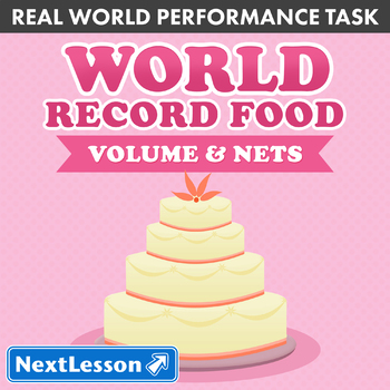 Performance Task – Volume and Nets – World Record Food: Ice Cream Cake