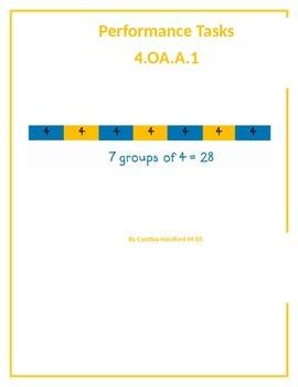 Performance Tasks 4.OA.A.1