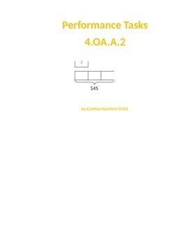 Performance Tasks 4.OA.A.2