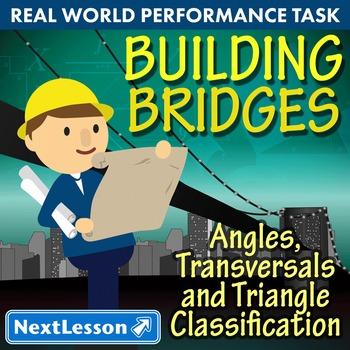 BUNDLE - Performance Tasks - Angles, Transversals & Triang