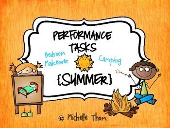 Performance Tasks Bundled {Summer}