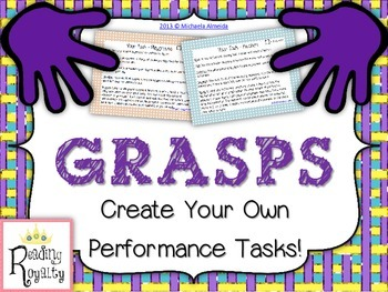 Performance Tasks - Create your own!