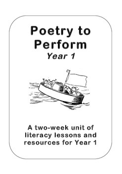 Poetry to Perform, Year 1 (Kindergarten) - Edward Lear