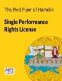 License for performing of The Pied Piper of Hamelin drama play script