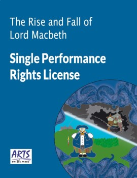 Performing Licence for The Rise and Fall of Lord Macbeth play script