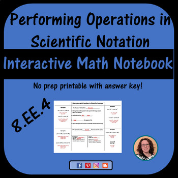 Performing Operations with Numbers Expressed in Scientific