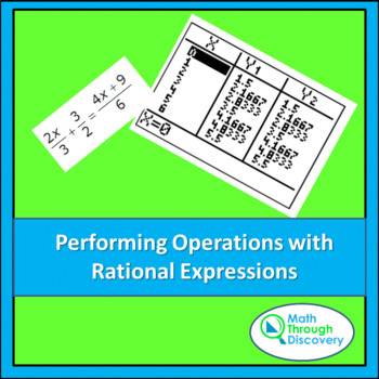 Algebra:  Performing Operations with Rational Expressions