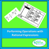 Algebra 1 - Performing Operations with Rational Expressions