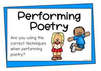 Performing Poetry and Plays