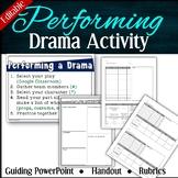 Performing Flash Drama --Guiding PowerPoint + Rubrics + Handout