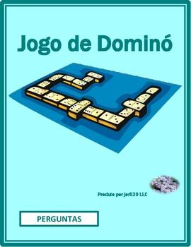 Perguntas (Question words in Portuguese) Dominoes