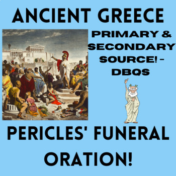 Pericles' Funeral Oration Excerpt -- Athenian Democracy!