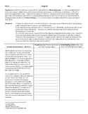 Pericles Funeral Oration Paraphrasing Worksheet