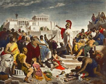Pericles' Funeral Oratory Worksheet
