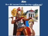 Pericles and the Athenian Golden Age - Powerpoint and Handout