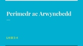 Perimedr ac Arwynebedd