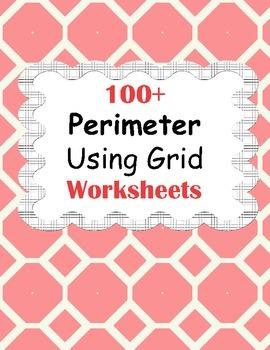 Perimeter Using Grid Worksheets