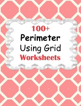 Perimeter Using Grid Worksheets