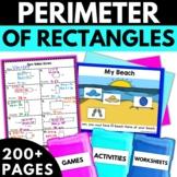 Perimeter Worksheets Activities Games