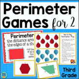 Perimeter Games For 3rd Grade Math Centers