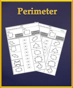 Perimeter Worksheet