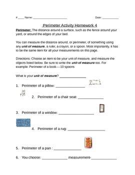 Perimeter-5 Nights of Homework