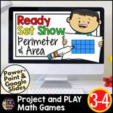 Area and Perimeter Google Classroom |  Digital Math Games