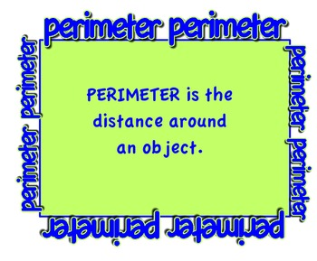 perimeter anchor chart poster by kel88c teachers pay teachers