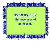 Perimeter Anchor Chart/Poster
