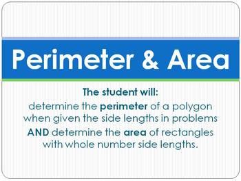 Perimeter & Area